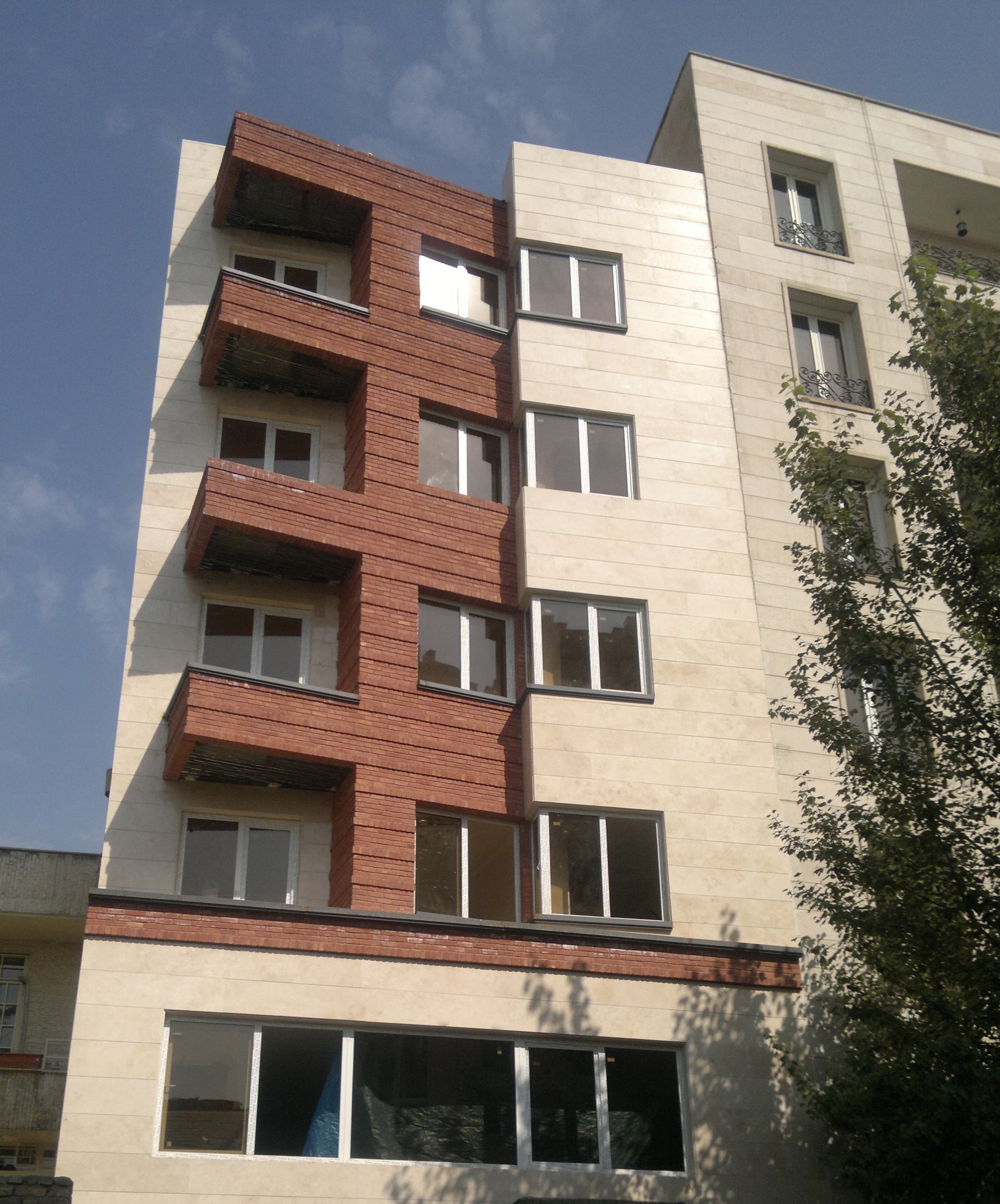 Pesyan Residential Building Mahrad Shahbazi Design Work