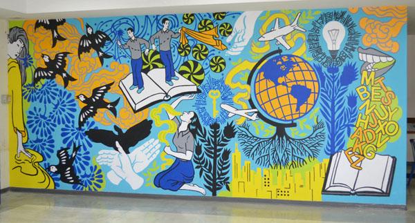 Murals damarakthedestroyer for Mural art images