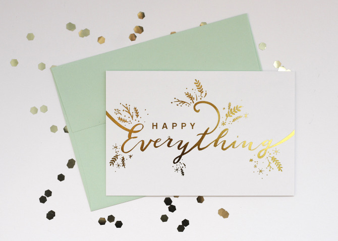 happy everything holiday card song dance