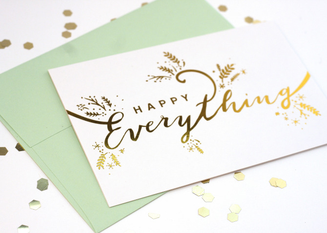 Happy Everything! Holiday Card - Song & Dance